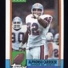 1990 Topps Football #046 Alphonso Carreker - Denver Broncos