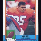 1990 Topps Football #044 Ken Bell - Denver Broncos