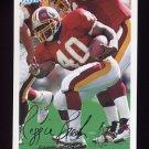 1994 Fleer Football #459 Reggie Brooks - Washington Redskins