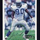 1994 Fleer Football #446 Terry Wooden - Seattle Seahawks