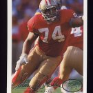 1994 Fleer Football #425 Steve Wallace - San Francisco 49ers