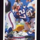 1994 Fleer Football #343 Rodney Hampton - New York Giants