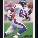 1994 Fleer Football #338 Chris Calloway - New York Giants
