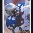 1994 Fleer Football #306 Harlon Barnett - New England Patriots