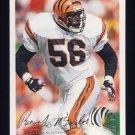 1994 Fleer Football #082 Ricardo McDonald - Cincinnati Bengals