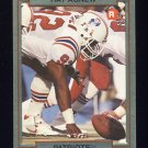 1990 Action Packed Rookie Update Football #54 Ray Agnew RC - New England Patriots