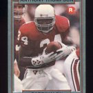 1990 Action Packed Rookie Update Football #51 Anthony Thompson RC - Phoenix Cardinals