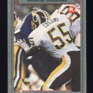 1990 Action Packed Rookie Update Football #35 Andre Collins RC - Washington Redskins