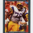 1990 Action Packed Football #139 Jackie Slater - Los Angeles Rams