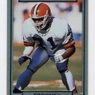 1990 Action Packed Football #047 Frank Minnifield - Cleveland Browns