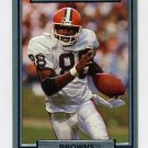 1990 Action Packed Football #044 Reggie Langhorne - Cleveland Browns