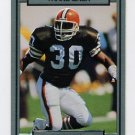 1990 Action Packed Football #041 Thane Gash RC - Cleveland Browns
