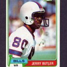 1981 Topps Football #521 Jerry Butler - Buffalo Bills