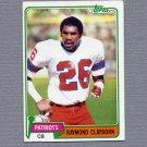 1981 Topps Football #452 Raymond Clayborn - New England Patriots VgEx