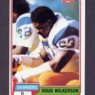 1981 Topps Football #447 Doug Wilkerson - Los Angeles Rams