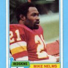 1981 Topps Football #407 Mike Nelms RC - Washington Redskins