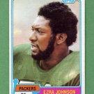 1981 Topps Football #168 Ezra Johnson - Green Bay Packers