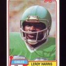 1981 Topps Football #013 Leroy Harris - Philadelphia Eagles