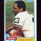 1981 Topps Football #009 Reggie Rucker - Cleveland Browns