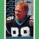 1995 Topps Football #451 Pete Metzelaars - Carolina Panthers