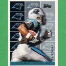 1995 Topps Football #447 Tony Smith - Carolina Panthers