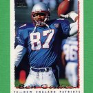 1995 Topps Football #411 Ben Coates - New England Patriots