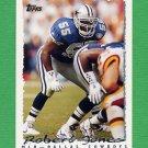 1995 Topps Football #408 Robert Jones - Dallas Cowboys