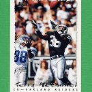 1995 Topps Football #391 Terry McDaniel - Oakland Raiders