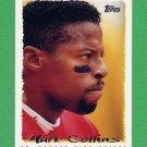 1995 Topps Football #380 Mark Collins - Kansas City Chiefs