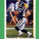 1995 Topps Football #373 Andre Coleman - San Diego Chargers