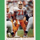 1995 Topps Football #363 Santana Dotson - Tampa Bay Buccaneers