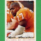 1995 Topps Football #343 Mark Wheeler - Tampa Bay Buccaneers