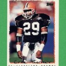 1995 Topps Football #340 Eric Turner - Cleveland Browns