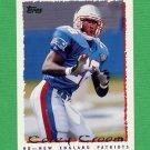 1995 Topps Football #334 Corey Croom - New England Patriots