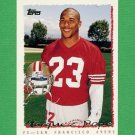 1995 Topps Football #332 Marquez Pope - San Francisco 49ers