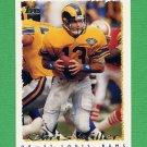 1995 Topps Football #319 Chris Miller - St. Louis Rams
