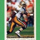 1995 Topps Football #283 Sean Lumpkin - New Orleans Saints