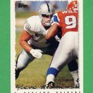 1995 Topps Football #254 Steve Wisniewski - Oakland Raiders