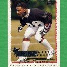 1995 Topps Football #239 Ron Davis RC - Atlanta Falcons