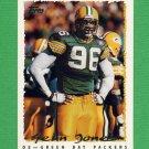 1995 Topps Football #212 Sean Jones - Green Bay Packers