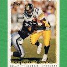 1995 Topps Football #201 Byron Bam Morris - Pittsburgh Steelers
