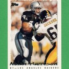 1995 Topps Football #195 Nolan Harrison - Oakland Raiders