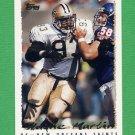 1995 Topps Football #163 Wayne Martin - New Orleans Saints