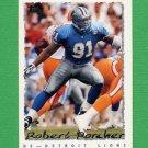 1995 Topps Football #151 Robert Porcher - Detroit Lions