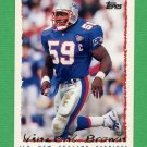 1995 Topps Football #145 Vincent Brown - New England Patriots