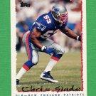 1995 Topps Football #139 Chris Slade - New England Patriots