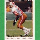 1995 Topps Football #105 Martin Mayhew - Tampa Bay Buccaneers