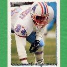 1995 Topps Football #088 Glenn Montgomery - Houston Oilers