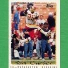 1995 Topps Football #087 Tom Carter - Washington Redskins