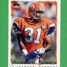 1995 Topps Football #075 Rondell Jones - Denver Broncos